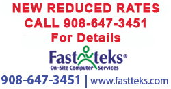 Computer Repair Services in Morris, Somerset, and Union Counties